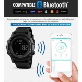 SKMEI Jam Tangan Olahraga Smartwatch Bluetooth - 1321 - Red - 6