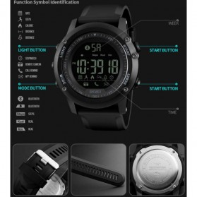 SKMEI Jam Tangan Olahraga Smartwatch Bluetooth - 1321 - Blue - 4