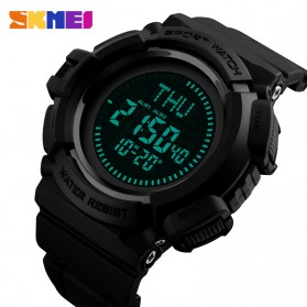 SKMEI Jam Tangan Kompas Digital Pria - 1300 - Black - 2