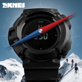 SKMEI Jam Tangan Kompas Digital Pria - 1300 - Black - 3