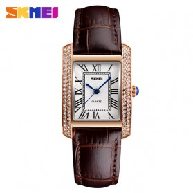 SKMEI Jam Tangan Analog Wanita - 1281 - Coffee/Gold
