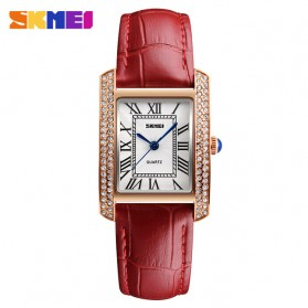 SKMEI Jam Tangan Analog Wanita - 1281 - Red/Golden