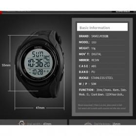 SKMEI Jam Tangan Digital Pria - 1313 - Black - 5