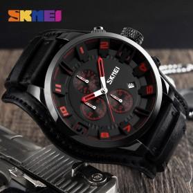 SKMEI Jam Tangan Analog Pria - 9165 - Brown/Black - 2