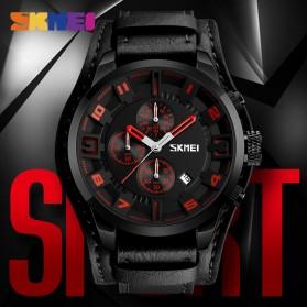 SKMEI Jam Tangan Analog Pria - 9165 - Brown/Black - 3