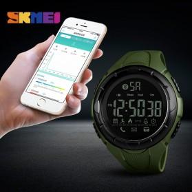 SKMEI Jam Tangan Olahraga Smartwatch Bluetooth - 1326 - Black - 3