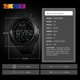 SKMEI Jam Tangan Olahraga Smartwatch Bluetooth - 1326 - Black - 7