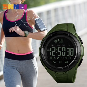 SKMEI Jam Tangan Olahraga Smartwatch Bluetooth - 1326 - Green - 4