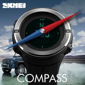 SKMEI Jam Tangan Kompas Digital Pria - 1294 - Black - 3