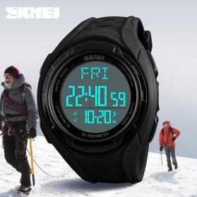 SKMEI Jam Tangan Olahraga Pedometer 3D - 1315 - Black - 2