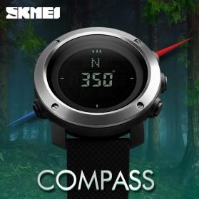 SKMEI Jam Tangan Kompas Digital Pria - 1293 - Black - 2