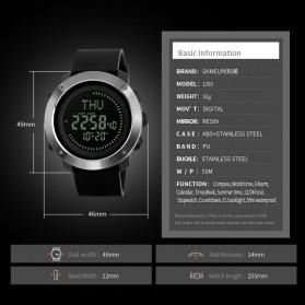 SKMEI Jam Tangan Kompas Digital Pria - 1293 - Black - 6