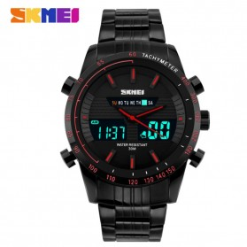 SKMEI Jam Tangan Digital Analog Pria - 1311 - Black/Red