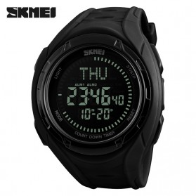 SKMEI Jam Tangan Digital Sporty Pria - 1314 - Black