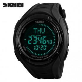 SKMEI Jam Tangan Digital Sporty Pria - 1314 - Black - 2