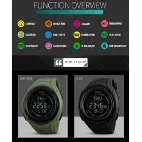 SKMEI Jam Tangan Digital Sporty Pria - 1314 - Black - 4