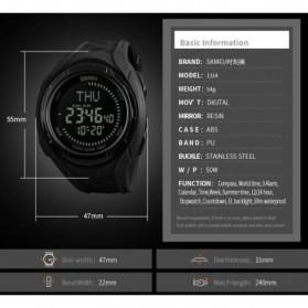 SKMEI Jam Tangan Digital Sporty Pria - 1314 - Black - 8