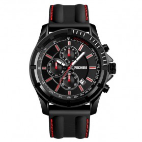SKMEI Jam Tangan Analog Pria - 1352 - Black/Red