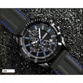 SKMEI Jam Tangan Analog Pria - 1352 - Black/Blue - 2