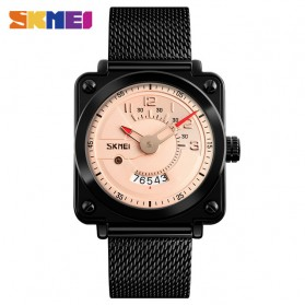 SKMEI Jam Tangan Analog Pria Stainless Steel - 9172 - Rose Gold