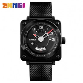 SKMEI Jam Tangan Analog Pria Stainless Steel - 9172 - Black