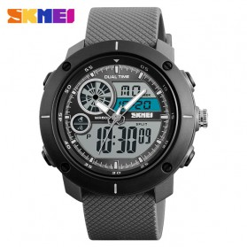 SKMEI Jam Tangan Digital Analog Pria - 1361 - Gray