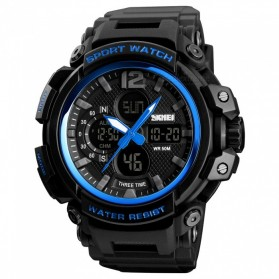 SKMEI Jam Tangan Analog Digital Pria - 1343 - Blue