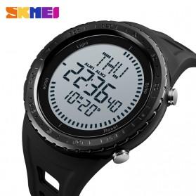 SKMEI Jam Tangan Digital Pria Kompas - 1342 - Black - 2