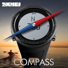 SKMEI Jam Tangan Digital Pria Kompas - 1342 - Gray - 4