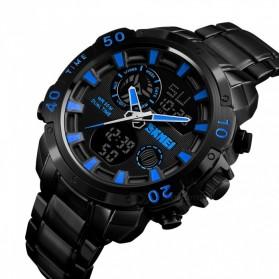 SKMEI Jam Tangan Digital Analog Pria - 1306 - Black/Blue - 3