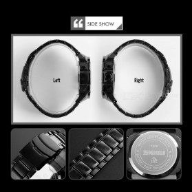 SKMEI Jam Tangan Digital Analog Pria - 1306 - Black/Blue - 5