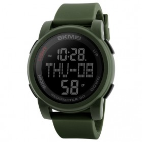 SKMEI Jam Tangan Digital Pria - 1317 - Army Green