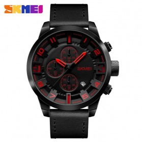 SKMEI jam Tangan Analog Chrono Pria - 1309 - Red