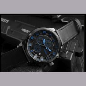 SKMEI jam Tangan Analog Chrono Pria - 1309 - Blue - 6