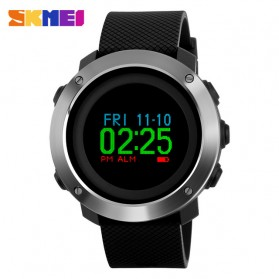 SKMEI Jam Tangan Digital Tracker Aktifitas - 1336 - Black
