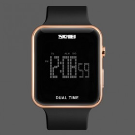 SKMEI Jam Tangan Digital Pria - 1271 - Rose Gold - 1