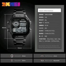 SKMEI Jam Tangan Digital Pria - 1335 - Black - 3