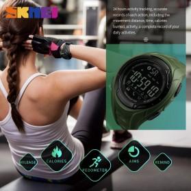 SKMEI Jam Tangan Olahraga Smartwatch Bluetooth - 1316 - Army Green - 5