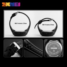 SKMEI Jam Tangan Olahraga Smartwatch Bluetooth - 1316 - Army Green - 6