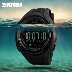 SKMEI Jam Tangan Olahraga Smartwatch Bluetooth - 1316 - Army Green - 7