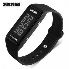 SKMEI Jam Tangan Digital LED - 1277 - Black