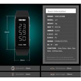 SKMEI Jam Tangan Digital LED - 1277 - Black - 7