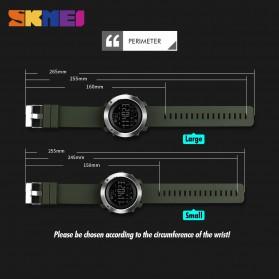 SKMEI Jam Tangan Olahraga Smartwatch Bluetooth Small - 1285 - Black - 4