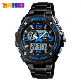 SKMEI Jam Tangan Digital Analog Pria - 1333 - Blue