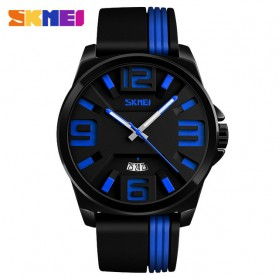 SKMEI Jam Tangan Analog - 9171 - Black/Blue - 1