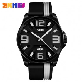 SKMEI Jam Tangan Analog - 9171 - Black White