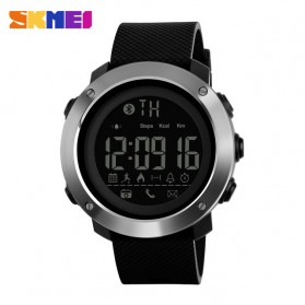 SKMEI Jam Tangan Olahraga Smartwatch Bluetooth Big - 1287 - Black - 1
