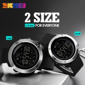 SKMEI Jam Tangan Olahraga Smartwatch Bluetooth Big - 1287 - Black - 3