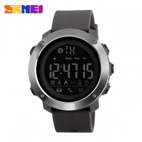 SKMEI Jam Tangan Olahraga Smartwatch Bluetooth Big - 1287 - Gray