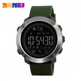 SKMEI Jam Tangan Olahraga Smartwatch Bluetooth Big - 1287 - Army Green